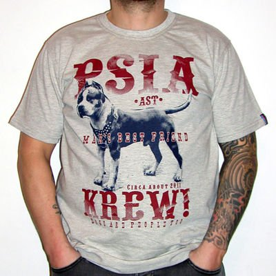 Amstaff T-shirt Dog American Staffordshire Terrier Man's best friend Psiakrew