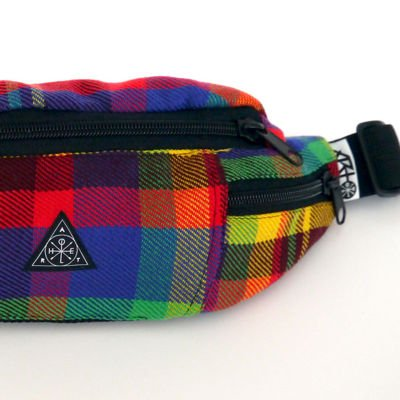 Hip Pack ArtHole Pixels Homespun