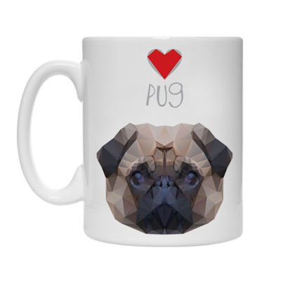 Mug with Pug Fatty